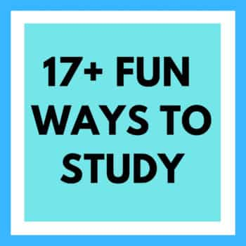 fun ways to study