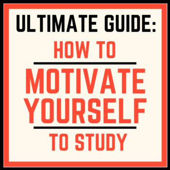 how to movtivate yourself to study