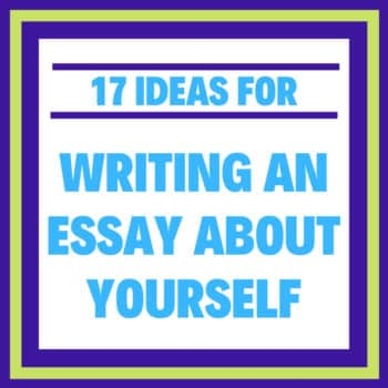 Write essay about yourself