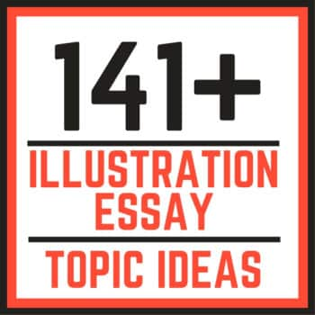 Example and illustration essay topics