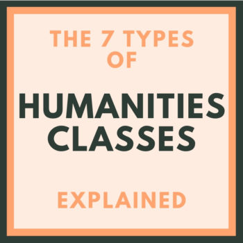 what are considered humanities classes