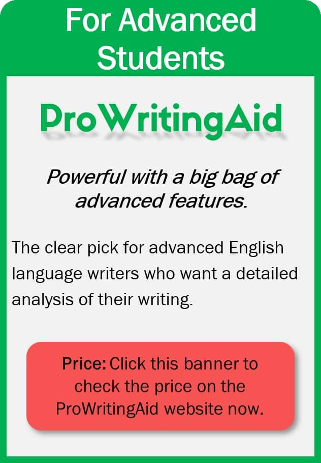 ProWritingAid pros and cons