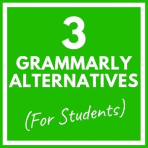 Grammarly alternatives for students: ProWritingAge and Ginger