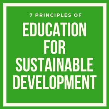 Education for Sustainable Development: Principes, Definition and Examples