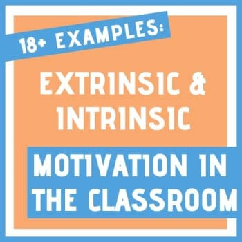 extrinsic vs intrinsic motivation in the classroom