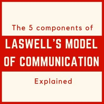 laswell model of communication