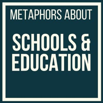 metaphors about school and metaphors about education