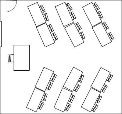 stadium classroom layout