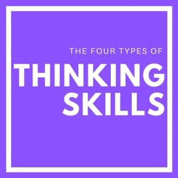 the 4 types of thinking skills