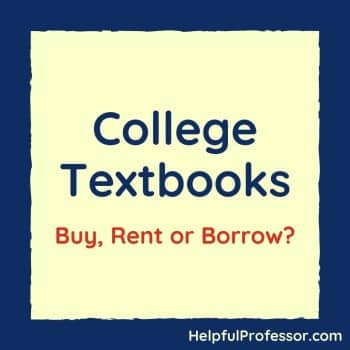 buying and renting college textbooks