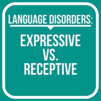 receptive language vs expressive language