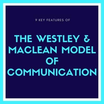 westley and maclean communication model