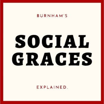 social graces by Burnham