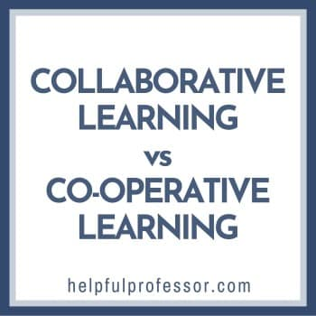 cooperative vs collaborative learning