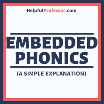 embedded phonics