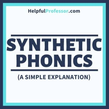 synthetic phonics - what is it?