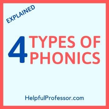 types of phonics