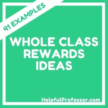 whole class reward ideas