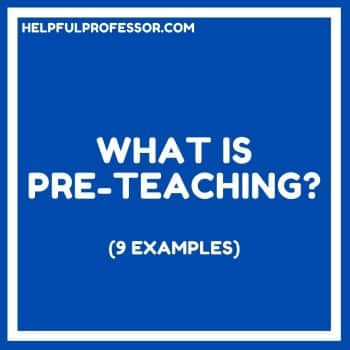 what is pre teaching of vocabulary